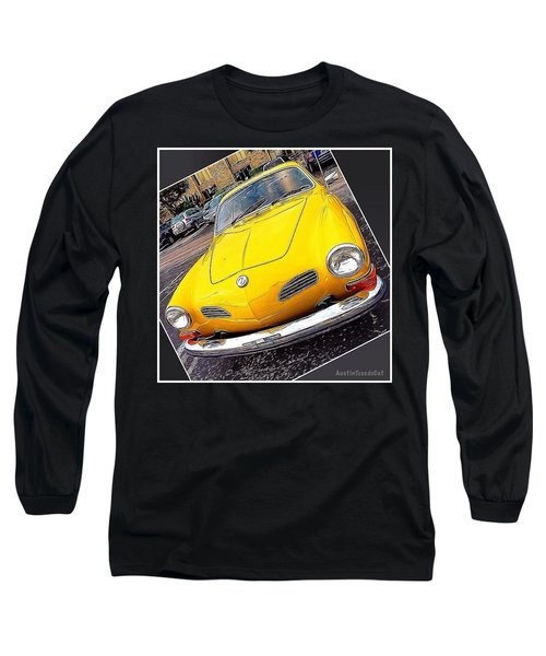 Photoshopping The #yellow #karminnghia Long Sleeve T-Shirt