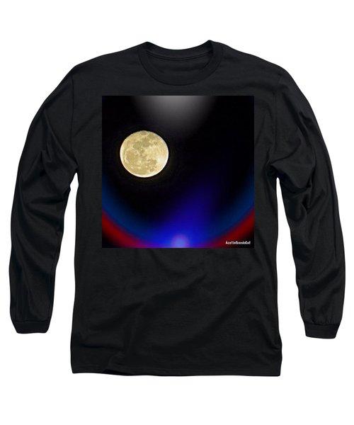 Photoshopping Tonight's #moon. Wish Long Sleeve T-Shirt