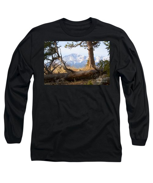 Pikes Peak And Trail To Bald Mountain Long Sleeve T-Shirt
