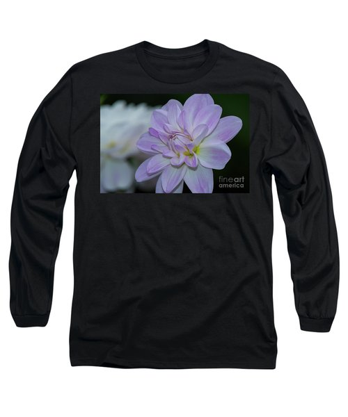 Porcelain Dahlia Long Sleeve T-Shirt