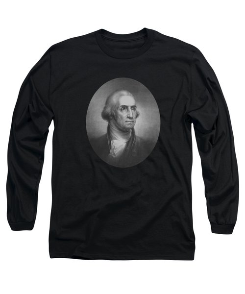President George Washington Long Sleeve T-Shirt