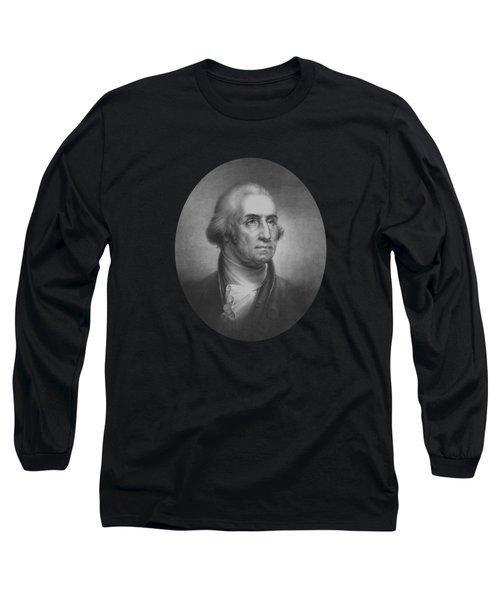 President George Washington Long Sleeve T-Shirt