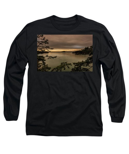 Pudget Sound Long Sleeve T-Shirt by Sabine Edrissi
