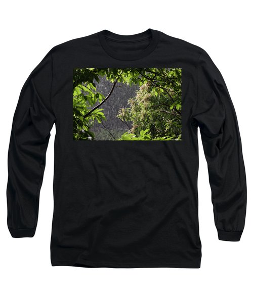 Long Sleeve T-Shirt featuring the photograph Rain by Bruno Spagnolo