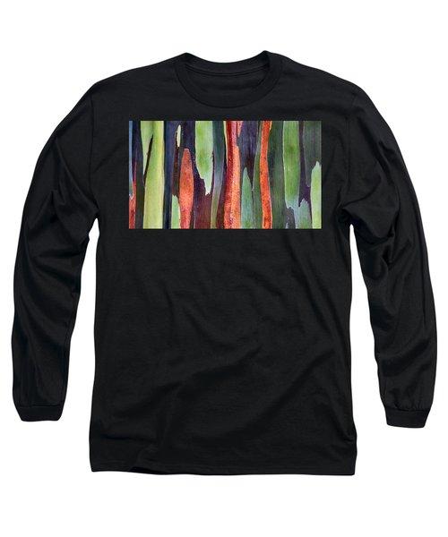 Rainbow Eucalyptus Long Sleeve T-Shirt