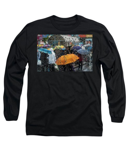 Raining Long Sleeve T-Shirt by Vladimir Kholostykh