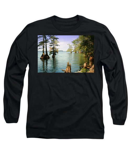 Long Sleeve T-Shirt featuring the photograph Reelfoot Lake by Bonnie Willis