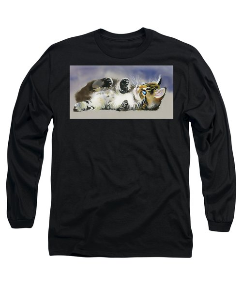 Resting In The Lord Long Sleeve T-Shirt by Karen Showell
