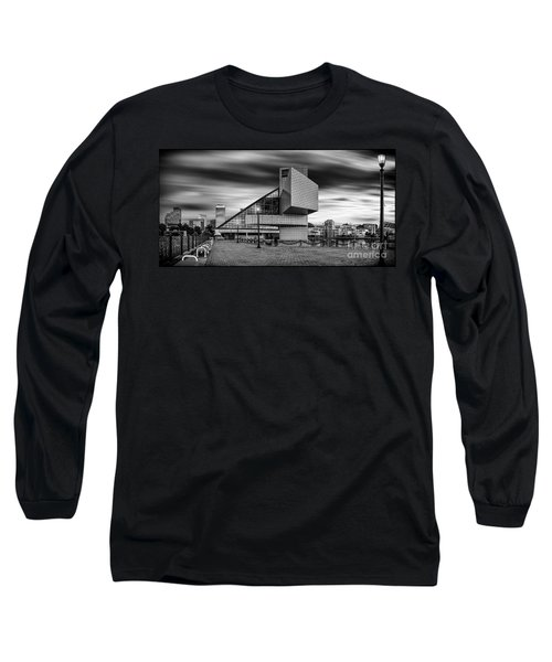Rock And Roll Hall Of Fame  Long Sleeve T-Shirt by James Dean