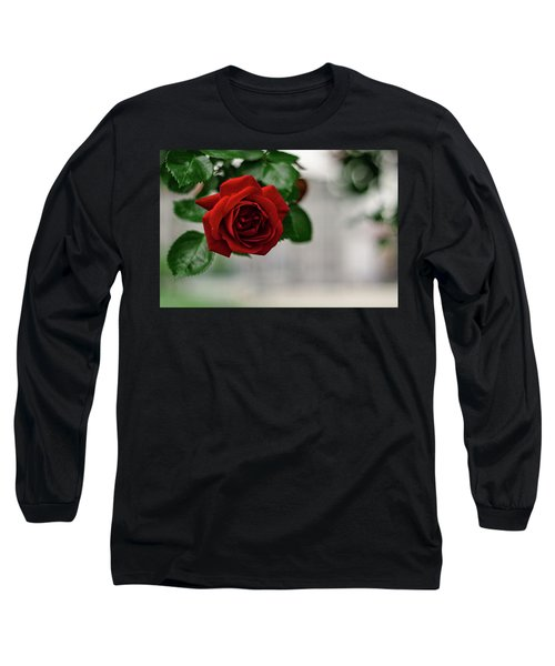 Roses In The City Park Long Sleeve T-Shirt