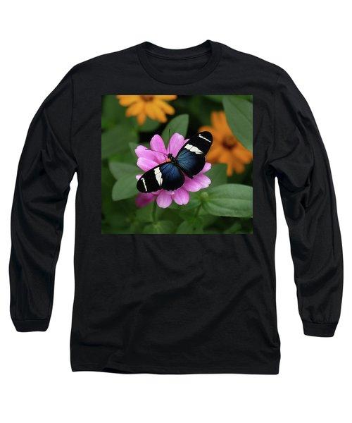 Sara Longwing Butterfly Long Sleeve T-Shirt