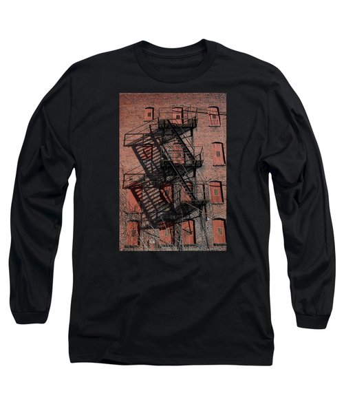 Shadows Long Sleeve T-Shirt by Karen Harrison