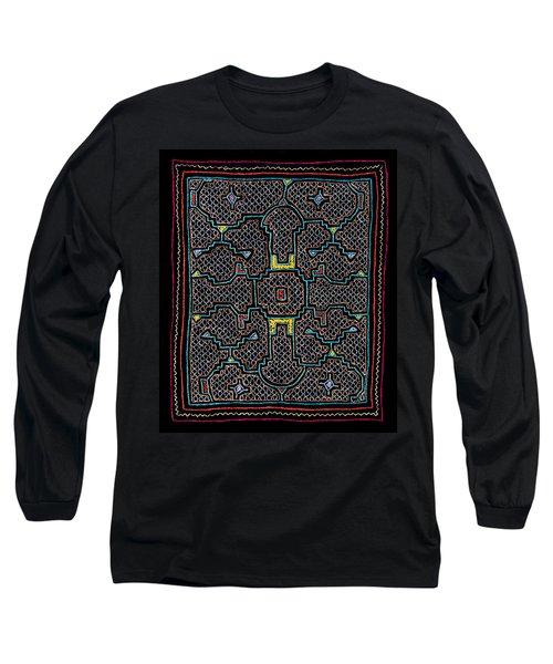 Shipibo Art Long Sleeve T-Shirt
