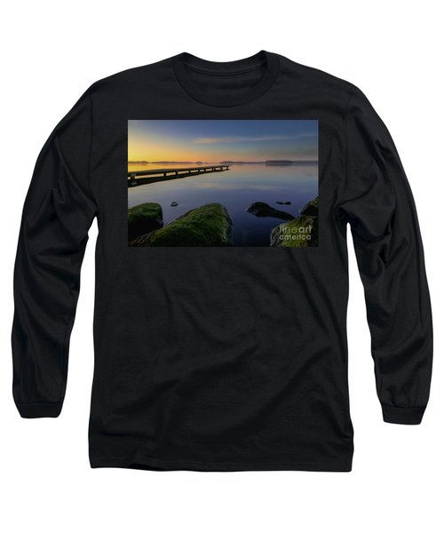Silence Lake Long Sleeve T-Shirt