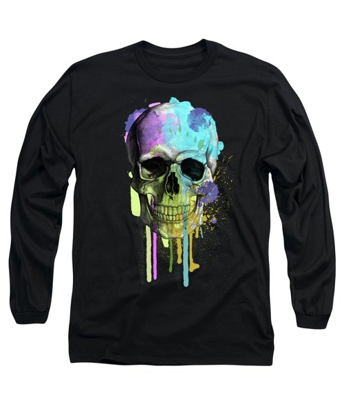 Halloween Long Sleeve T-Shirt by Mark Ashkenazi