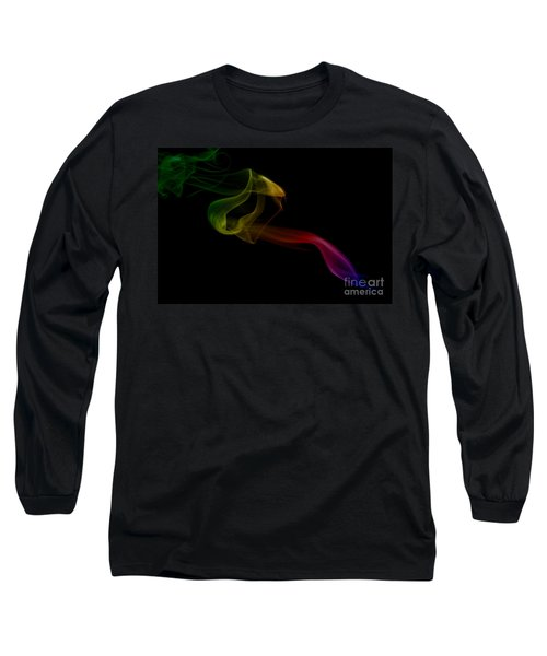 Long Sleeve T-Shirt featuring the photograph smoke XXV by Joerg Lingnau