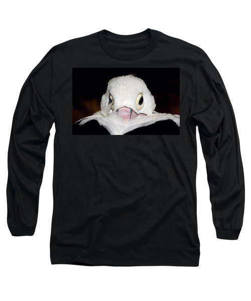 Snuggled Long Sleeve T-Shirt by Marion Cullen
