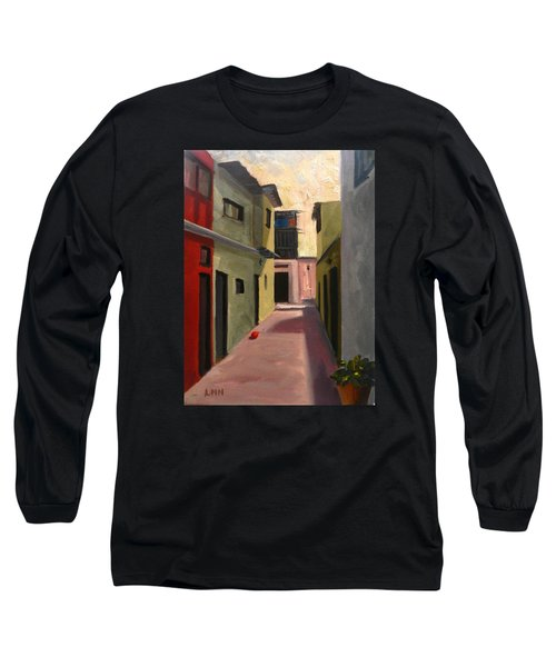 Somewhere In The City, Peru Impression Long Sleeve T-Shirt