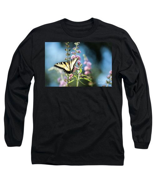 Spread Your Wings Long Sleeve T-Shirt by Judy Wolinsky