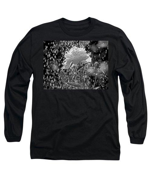Spring Rain - 365-13 Long Sleeve T-Shirt by Inge Riis McDonald