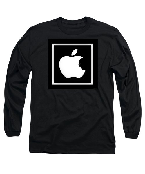 Steve Jobs Apple Long Sleeve T-Shirt