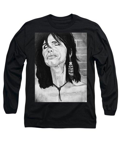 Steven Tyler Dreams On Long Sleeve T-Shirt