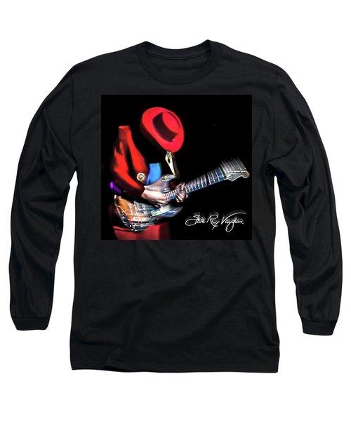 Stevie Ray Vaughan - Texas Flood Long Sleeve T-Shirt