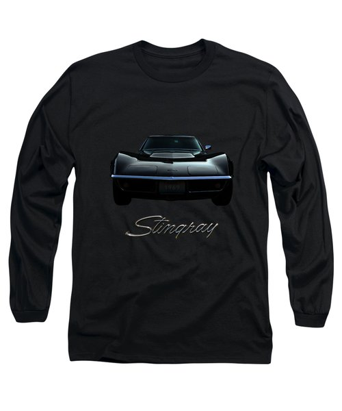 Stingray Long Sleeve T-Shirt by Dennis Hedberg