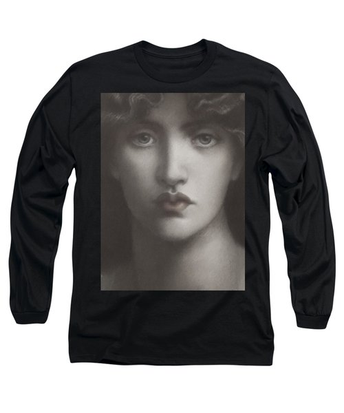 Study Of Jane Morris Long Sleeve T-Shirt