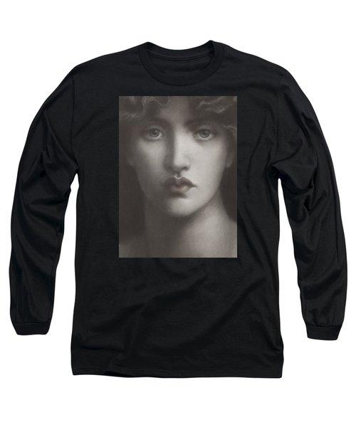 Study Of Jane Morris Long Sleeve T-Shirt