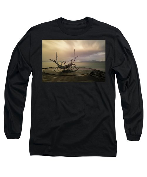 Long Sleeve T-Shirt featuring the photograph Sun Voyager by Allen Biedrzycki