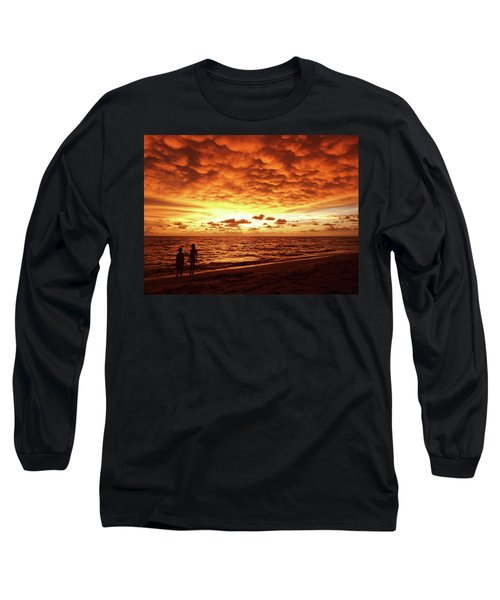 Sunset Before The Storm Long Sleeve T-Shirt