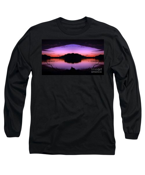 Sunset Kiss Long Sleeve T-Shirt by Sue Stefanowicz
