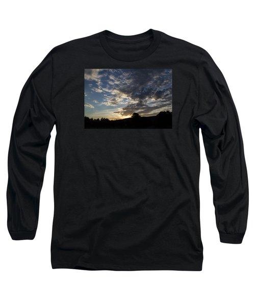 Sunset On Hunton Lane #1 Long Sleeve T-Shirt