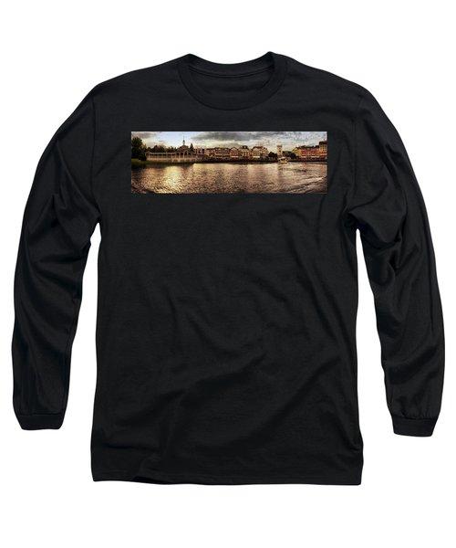 Sunset On The Boardwalk Walt Disney World Mp Long Sleeve T-Shirt