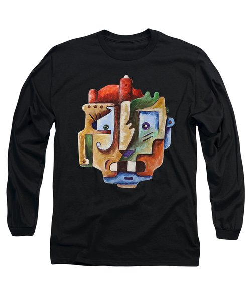Surrealism Head Long Sleeve T-Shirt