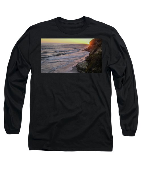 Swamis Sunset Long Sleeve T-Shirt by Mark Barclay