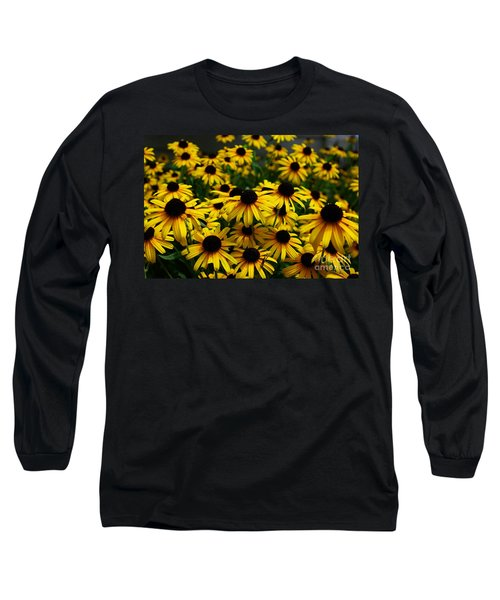 Sweet Flowers Long Sleeve T-Shirt by John S