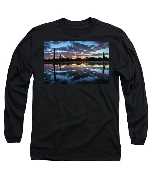 Symetry On The River Long Sleeve T-Shirt