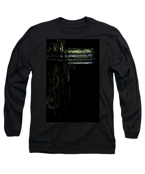T Shirt Deconstruct Green Dodge Bumper Long Sleeve T-Shirt