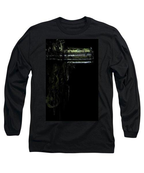 T Shirt Deconstruct Green Dodge Bumper Long Sleeve T-Shirt