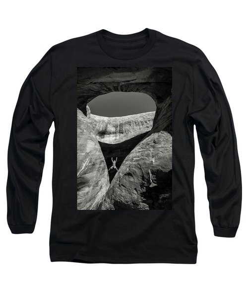 Teardrop Arch Long Sleeve T-Shirt