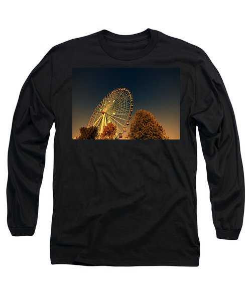 Texas Star Ferris Wheel Long Sleeve T-Shirt