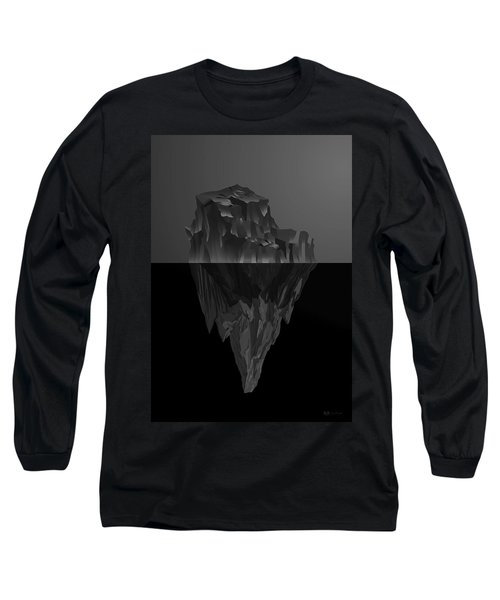 The Black Iceberg Long Sleeve T-Shirt