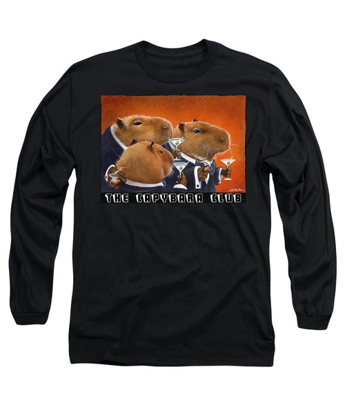 The Capybara Club Long Sleeve T-Shirt