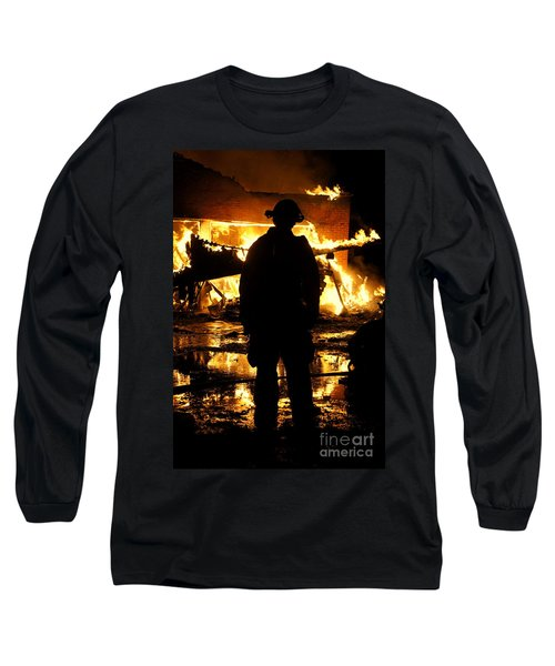The Fireman Long Sleeve T-Shirt by Benanne Stiens