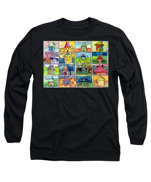 The Little Houses Long Sleeve T-Shirt