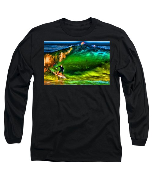 Long Sleeve T-Shirt featuring the photograph The Shadow Within by John A Rodriguez