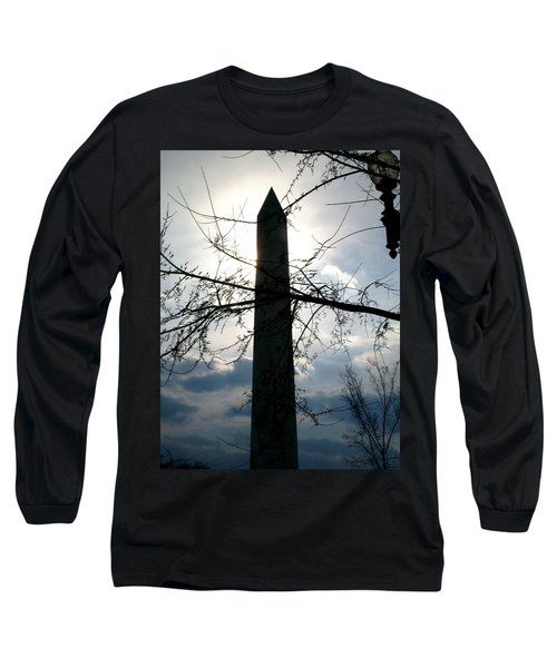 The Washington Monument  Long Sleeve T-Shirt