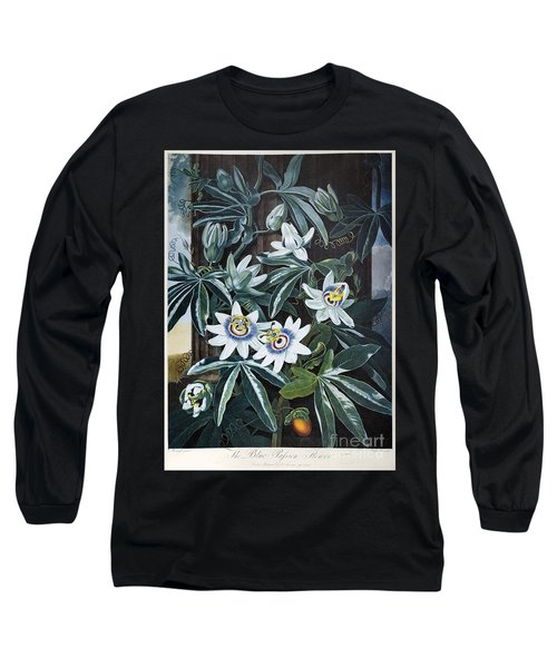 Thornton: Passion-flower Long Sleeve T-Shirt